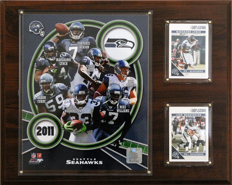 NFL Seattle Seahawks 2011 Team Plaque