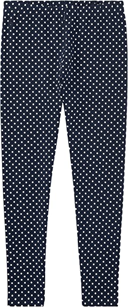 Polo Ralph Lauren Kids - Polka Dot Jersey Leggings (Little Kids/Big Kids)