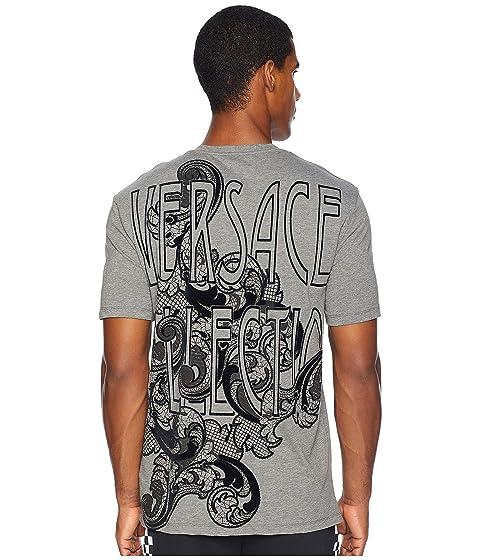 Versace Collection Baroque Font Logo Tee