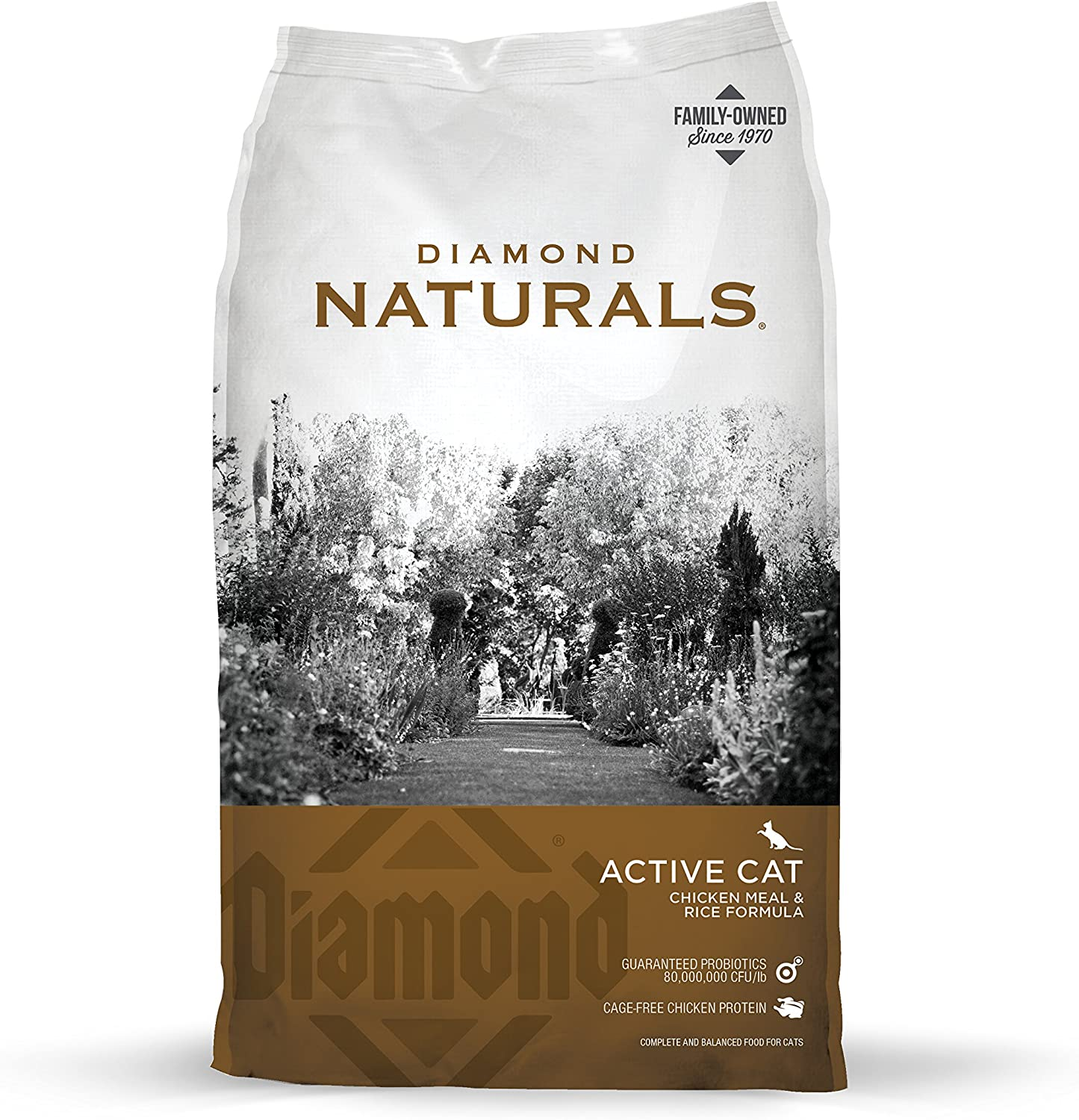 Diamond Naturals Real Meat Recipe High Predein Dry Cat Food