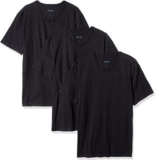 BOSS HUGO BOSS Men's 3-Pack V-Neck Regular Fit Short Sleeve T-Shirts
