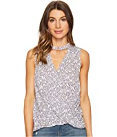 Brigitte Bailey - Brisa Sleeveless Keyhole Top