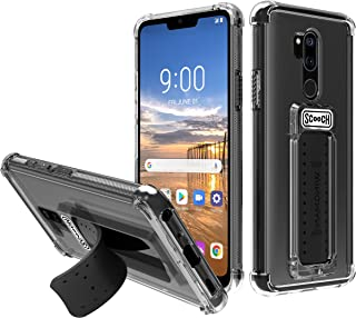 Scooch Wingman 5-in-1 Phone Case for The LG G7 ThinQ (Clear)