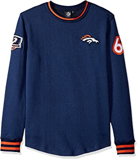 Ultra Game NFL Men's Long Sleeve Pullover Fleece Sweatshirt