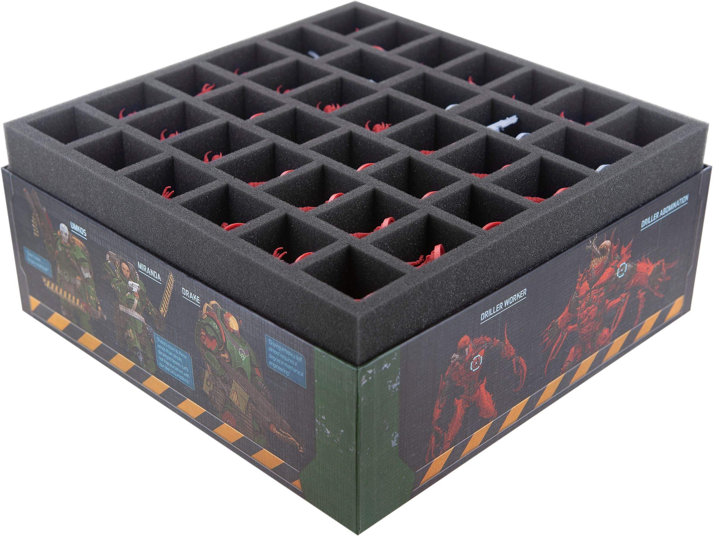 Feldherr Espuma Compatible con Zombicide: Dark Side - Caja de Juego de Mesa: Amazon.es: Juguetes y juegos