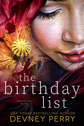 The Birthday List (Maysen Jar Book 1)