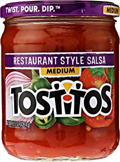 Tostitos Restaurant Style Salsa - Medium, 15.5 Ounce