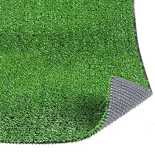TAPISO Pelouse Synth/étique Tapis dExt/érieur Gazon Balcon Terrasse Jardin Vert Poil Court R/ésistant au M/ètre 400 x 200 cm