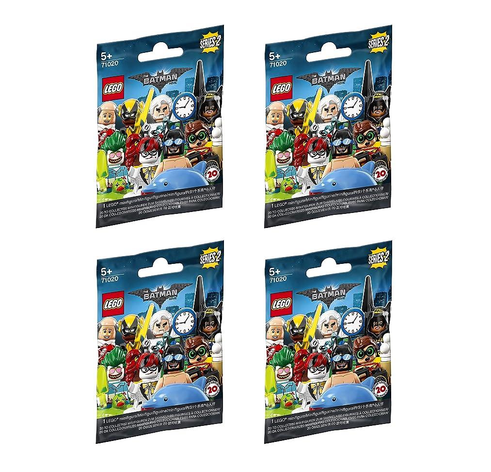 LEGO Minifigure Batman Series 2 - New Sealed Blind Bags - Random Set of 4 (71020)