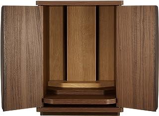 白井産業 仏壇モダン 約幅30 奥行26 高さ39 cm やすらぎ YSR-4030D DK ブラウン