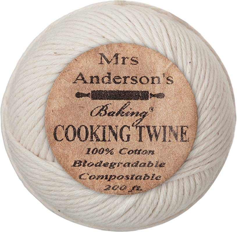 Mrs Anderson S Baking Cooking Twine Made In America All Natural Cotton 200 Feet