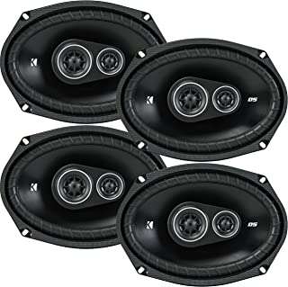 4 New Kicker DSC69 D-Series 6x9 720 Watt 3-Way Car Audio Coaxial Speakers - Grills Included