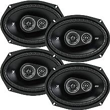 4 New Kicker DSC69 D-Series 6×9 720 Watt 3-Way Car Audio Coaxial Speakers –..