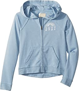 Pretty Smile Circle Spirit Fleece Hoodie (Big Kids)