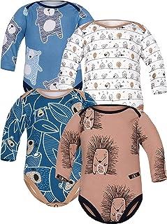 SIBINULO Gar/çons Filles Pyjama B/éb/é Grenouill/ère ABS Lot de 3
