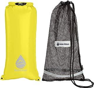 SnorkelSak 2-in-1 Mesh Snorkel Bag with Removable Interior Waterproof Dry Bag