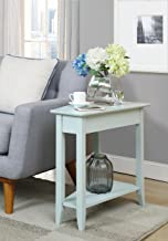Convenience Concepts American Heritage Wedge End Table, Sea Foam