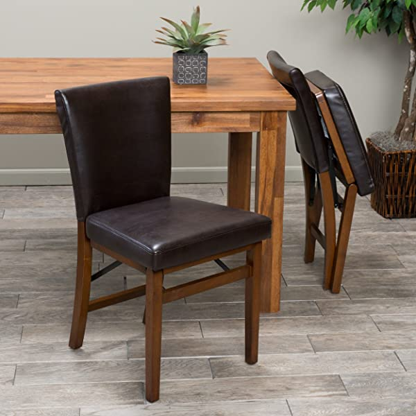 Christopher Knight Home 295504 Lane Folding Chair Brown
