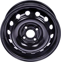 Dorman 939-162 Black Wheel with Painted Finish (14 x 5.5 inches /4 x 100 mm, 43 mm Offset)