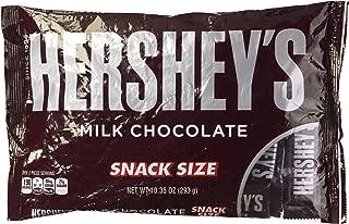 Hershey's Milk Chocolate Snack Size Bars, 10.35 oz Bag