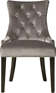 Best silver velvet dining chairs Reviews