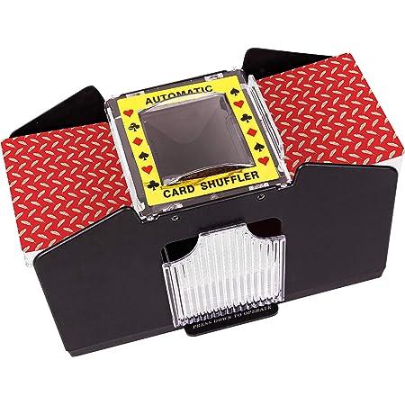 Yolispa Automatic Poker Card Shuffler 2 Deck Machine for Home Party Club