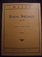 Etudes Speciales Opus 36 for Viola Solo (Pagels)