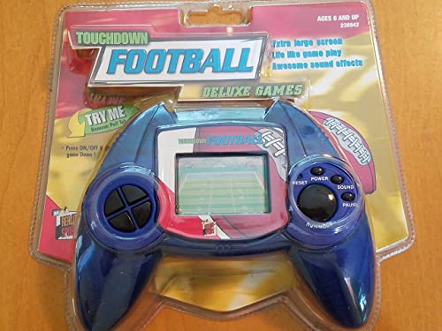 Deluxe Sports Games - Touchdown Football Hand Held Electronic Game