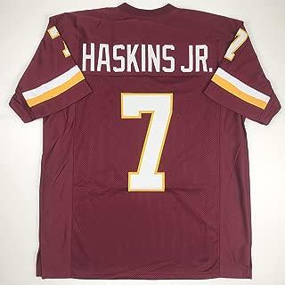 Unsigned Dwayne Haskins Washington Burgundy Custom Stitched Football Jersey Size Men's XL New No Brands/Logos