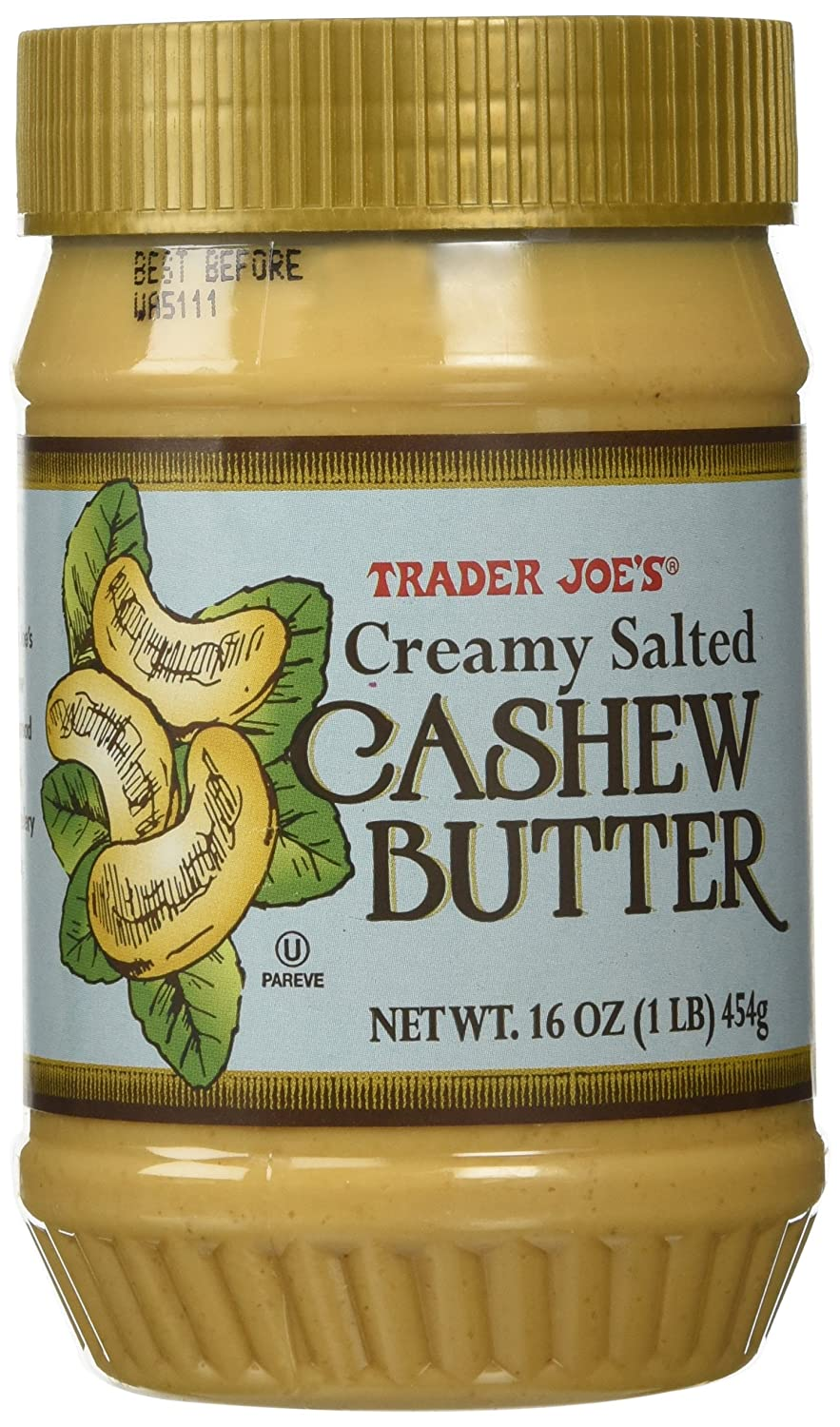 Trader New product type Joes Limited time sale Creamy Butter Salted Cashew