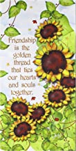 Jody Houghton Designs JHD6-12SUNFL Friendship Sunflower Pre-Printed Fabric Art Panel, Multicolor