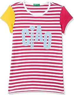 United Colors of Benetton Girl's Regular T-Shirt