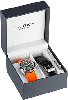 Nautica Men's Quartz Resin Silicone Watch