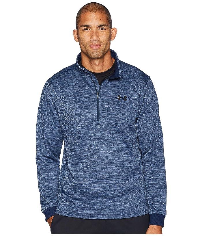 Under Armour Men/'s Academy Blue UA Storm SweaterFleece 1//4 Zip Sweater