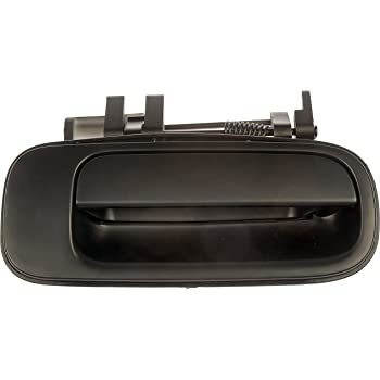 Toyota Models Dorman 77423 Rear Passenger Side Exterior Door Handle for Select Geo Black