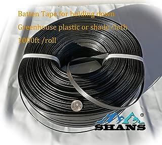 SHANS Batten Tape Lock Channel Hook Greenhouse Parts (Batten Tap 1000ft)