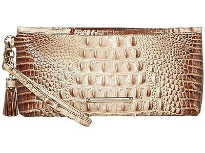Brahmin Melbourne Kayla Bag (Latte) Handbags