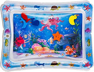 Splashin'kids Inflatable Tummy Time Premium Water mat Infants and Toddlers is The..