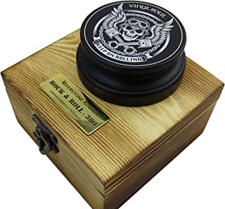 Riverstone Audio - Rock & Roll Series 380 Record Weight Turntable Stabilizer (380 g) - Anodized Aluminum - Laser Engraved ...