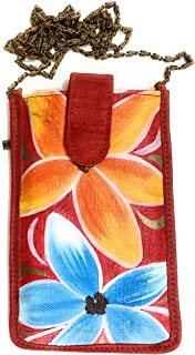 TRENDY MOBILE SHOULDER HANGING CANVAS BAG CASE COVER/WALLET POUCH/PURSE/WALLET/CLUTCH WITH WAIST CLIP (DRESS HOOK) FOR LAD...