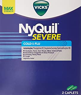 Best Nyquil Cold & Flu 25 Packs of 2 Pills in Each Pack Review