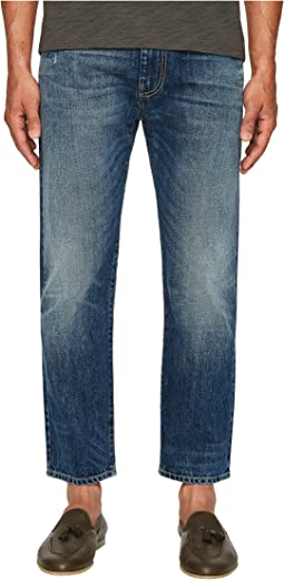 Cropped Five-Pocket Jeans