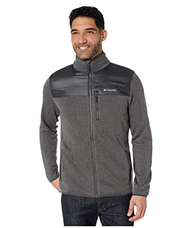 Columbia Canyon Pointtm Sweater Fleece Full Zip (City Grey/Shark) Men
