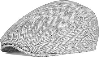 BABEYOND Gatsby Newsboy Hat Breathable Summer Flat Cap for Men Gatsby Hat for Men Beret Cabbie Ivy Hat