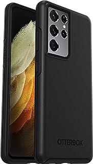 OtterBox Symmetry  elegante und schlanke sturzsichere Schutzhülle für Samsung Galaxy S21 Ultra, Schwarz