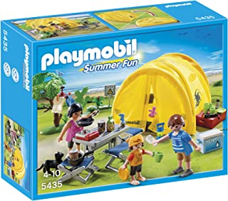 Playmobil Family Trip Camping Playset 5435 Play Tents