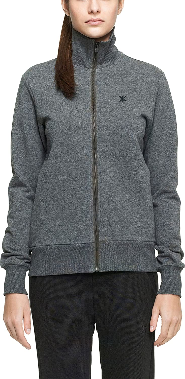 Onepiece Unisex Sport Sweatshirt High Neck Zip Out