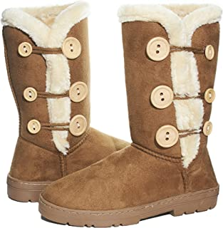 Ladies Microsuede 10 Inch Winter Boots
