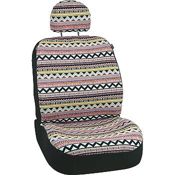 Allison 67-2216 Multi-Color Prairie Stripe Universal Bucket Seat Cover Pair