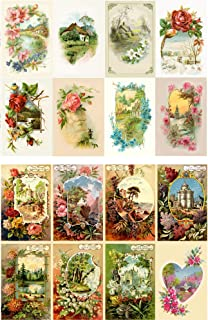 Decoupage Paper Pack (10sheets A4 / 8